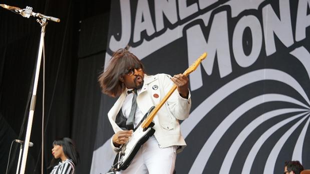 Oay Festival – Janelle Monae Gitarrist
