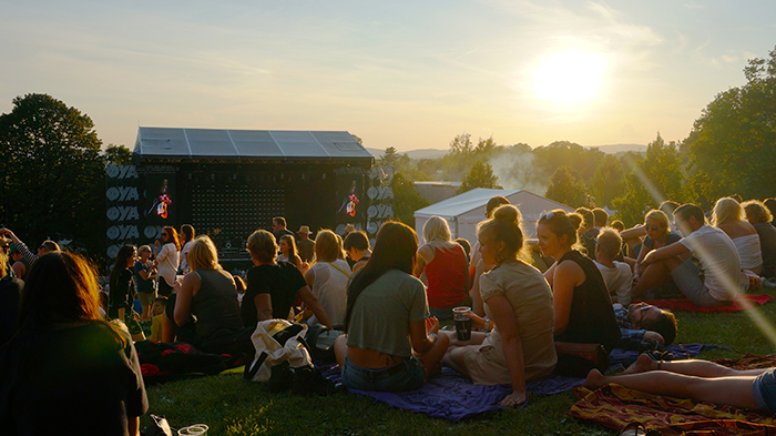 Oya Festival – Sonnenuntergang