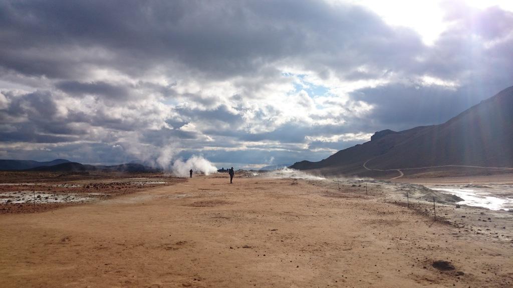 Island heiße Quellen