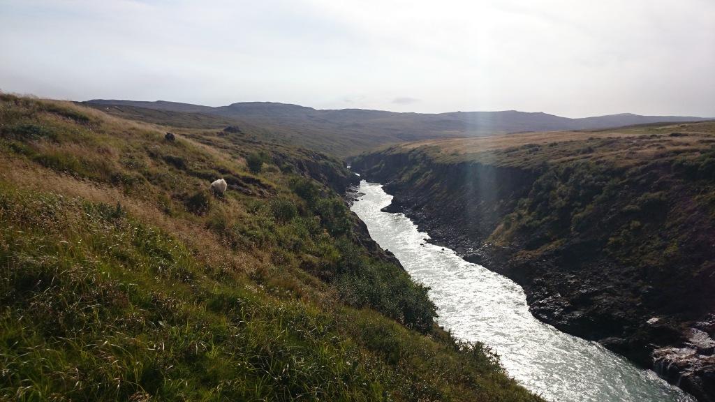 Island Norden Gebirge