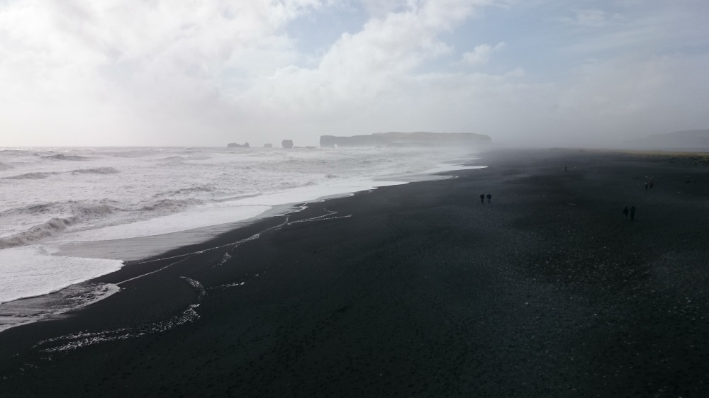 Island Reynisfjara Aussicht