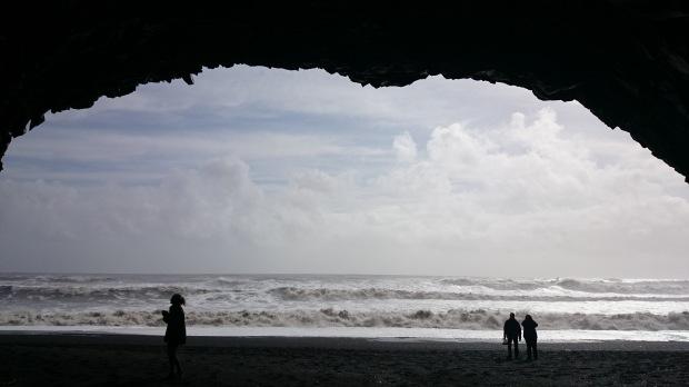 Island Reynisfjara Höhle