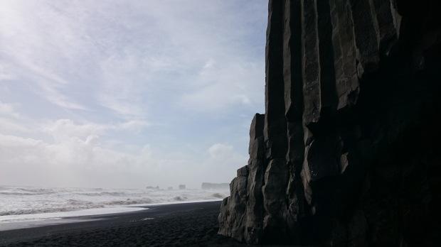 Island Reynisfjara Klippe