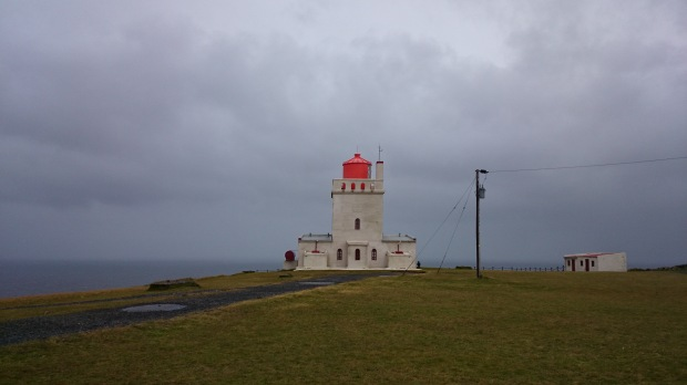 Island Reynisfjara Leuchtturm