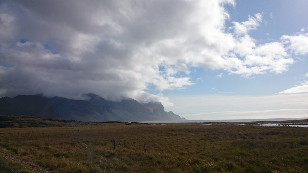 Island Süden Gebirge und Meer