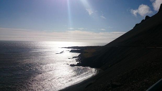 Island Südosten Route Gletscher