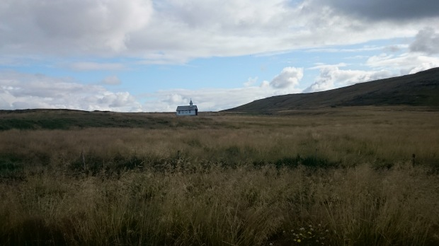 Island Snaefellnses Kirche